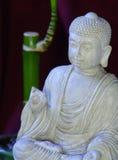 Buddha e bambu Fotografia de Stock Royalty Free