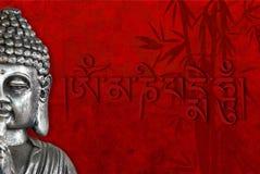 Buddha e simboli religiosi fotografia stock libera da diritti