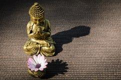Buddha ed ombra Fotografie Stock Libere da Diritti
