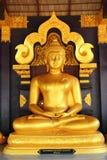 Buddha in einem Tempel von Thailand Stockfoto