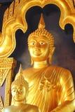 Buddha in einem Tempel von Thailand Lizenzfreie Stockfotos