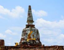 Buddha in einer Wiese, Stockfotografie