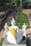 Buddha em Ayutthaya Imagens de Stock Royalty Free