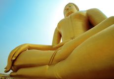 Buddha em Tailândia Fotos de Stock Royalty Free