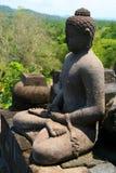 Buddha en Borobudur foto de archivo libre de regalías