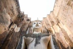 Buddha en el templo Fotos de archivo