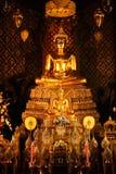 Buddha en iglesia Imágenes de archivo libres de regalías