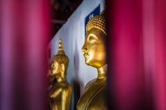 Buddha en iglesia imagen de archivo