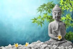 Buddha en la meditación Imágenes de archivo libres de regalías