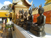Buddha en Tailandia Foto de archivo libre de regalías