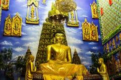 Buddha en templo Fotografía de archivo libre de regalías