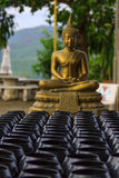 Monk. Buddha explicitly stated that sanctions are only two kinds of clay bowl and bowl in black steel. Varying in size from 7-11 inches and Buddha forbade royalty free stock photography