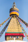 Buddha eyes Stock Photography