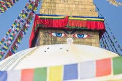 Buddha eyes Royalty Free Stock Photos