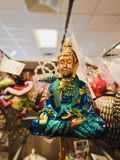 Buddha för jul tre royaltyfria foton