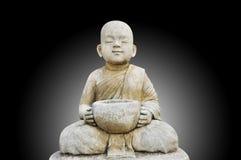 Buddha fa la meditazione fotografie stock