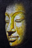 Buddha face acrylic painting. Buddha face,acrylic painting on canvas Royalty Free Stock Photography