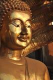 Buddha Face Brass Sine Royalty Free Stock Photo