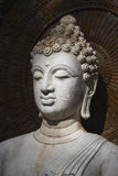 Buddha, face of budda statue Royalty Free Stock Image