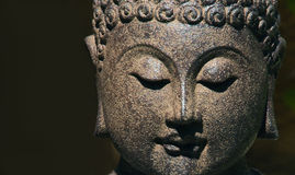 Buddha face Stock Photography