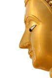 Buddha face in profile Stock Image