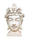 Buddha face sculpture Stock Photos