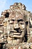 Buddha face statue Stock Image