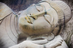 Buddha face Royalty Free Stock Photography