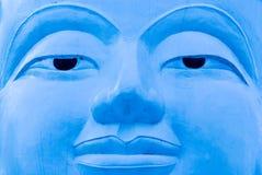 Buddha face, Sukhothai, Thailand. Royalty Free Stock Photo