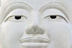 Buddha face, Sukhothai, Thailand. Royalty Free Stock Photography