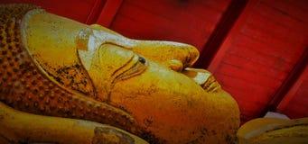 Buddha face. Stock Photo