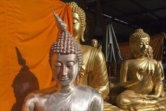 Buddha Factory in Bangkok Royalty Free Stock Photography