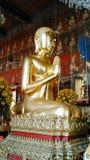 Buddha favourite disciple sculpture. Sculpture in  buddhist temple Stock Image