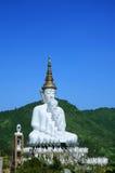 Buddha fem i mitt av en dal: Thailand Arkivbilder