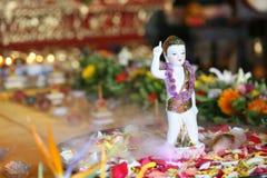 Buddha-Festival Stockfoto