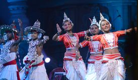 Buddha festiwal w Bodhgaya, Bihar, India zdjęcie stock