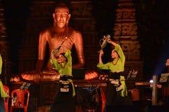 Buddha festiwal w Bodhgaya, Bihar, India obraz stock