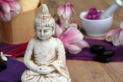 Buddha figure Stock Photography