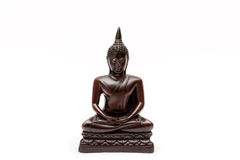 Buddha figure isolated Royalty Free Stock Photos