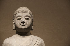 Buddha figurerar Arkivfoto