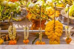 Buddha flowers Stock Photos