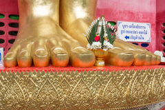 Buddha Foot Royalty Free Stock Photo