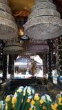 Buddha footprint. In Chiang Mai Royalty Free Stock Photos