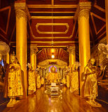 Buddha Footprint hall at Shwedagon complex Royalty Free Stock Photography