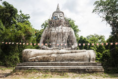Buddha in forest Royalty Free Stock Photos