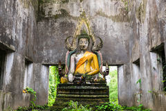 Buddha in the Forest Royalty Free Stock Photos