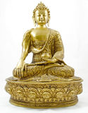 buddha främre sikt i korrekt läge Arkivbild