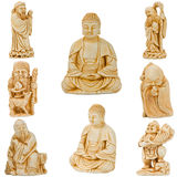 Buddha with friends Stock Photo