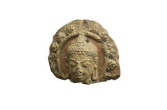 buddha głowa Obraz Royalty Free