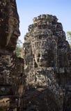 Buddha głowa Góruje zdjęcie stock